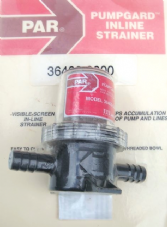 Pump Guard inline Strainer 1/2""